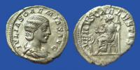 "Julia Soaemias Silver Denarius ""Venus and child"""